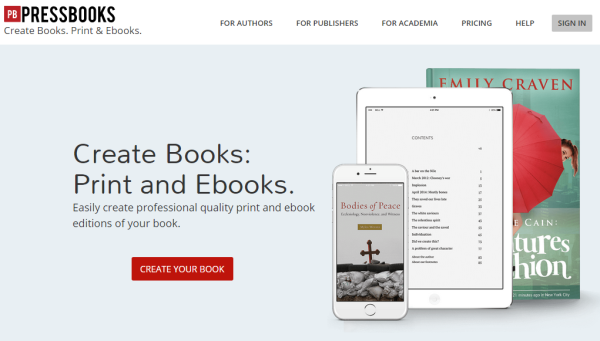 Wordpress with SaaS - PressBooks
