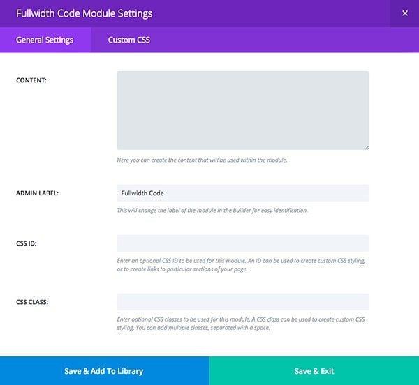 code-module-settings
