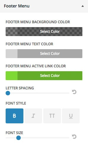 footer-menu-customizer