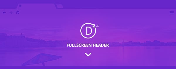 Exploring Divi 2.4: Using The All New Full Screen Header Module