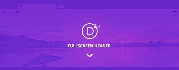 Exploring Divi 2.4: Using The All New Full Screen Header Module