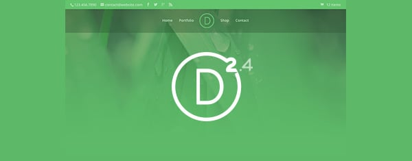 Exploring Divi 2.4: All New Header Styles And Design Settings