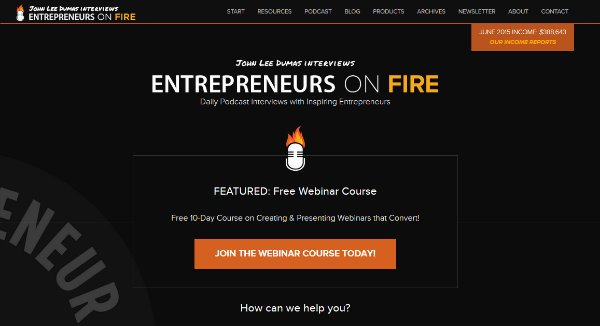 Entrepreneur on Fire