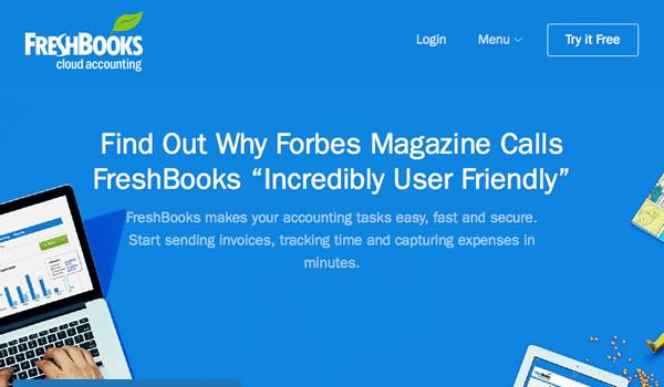 FreshBook-homepage