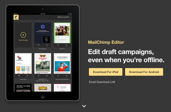 MailChimp Apps