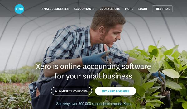 Xero-homepage