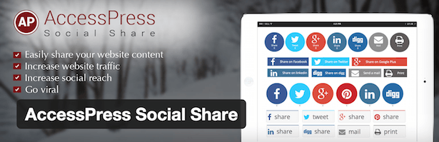 AccessPress Social Share logo