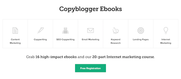 copywriting e-books by copyblogger
