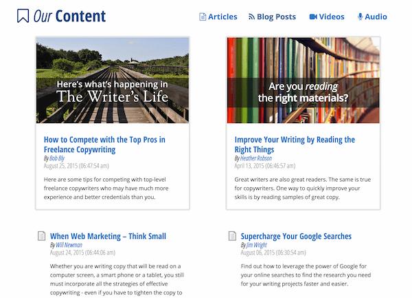 Learn copywriting with AWAI