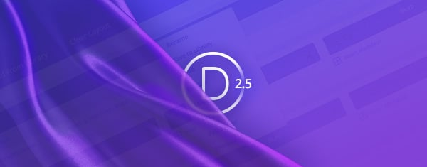 A Sneak Peek At Divi 2.5, And An Update To The Divi Production Timeline