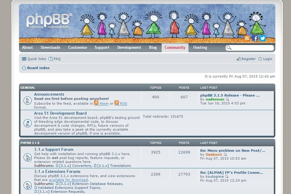 phpBB Support Forums