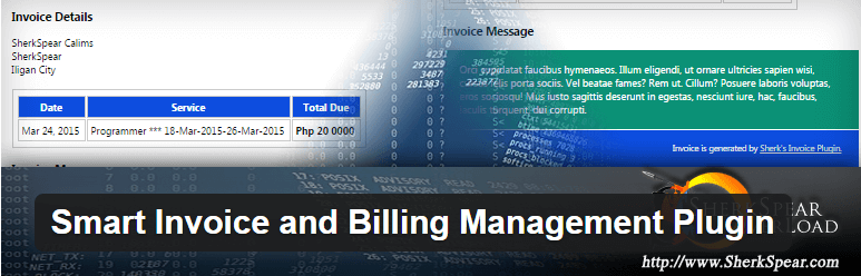 Smart Invoice and Billing Management Plugin