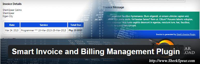 Smart Invoice and Billing Management Plugin