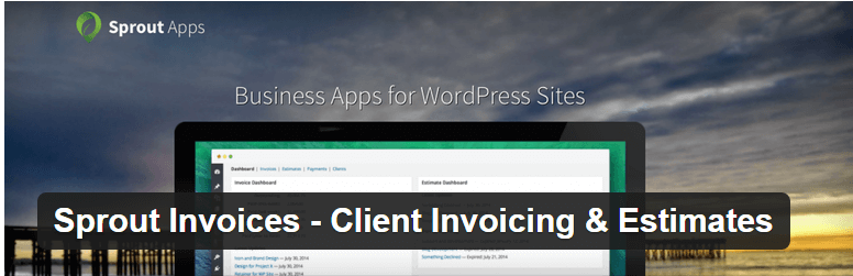 Sprout Apps Invoice Plugin