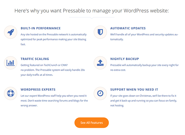 Managed WordPress hosts promise a suite of support tools and features.