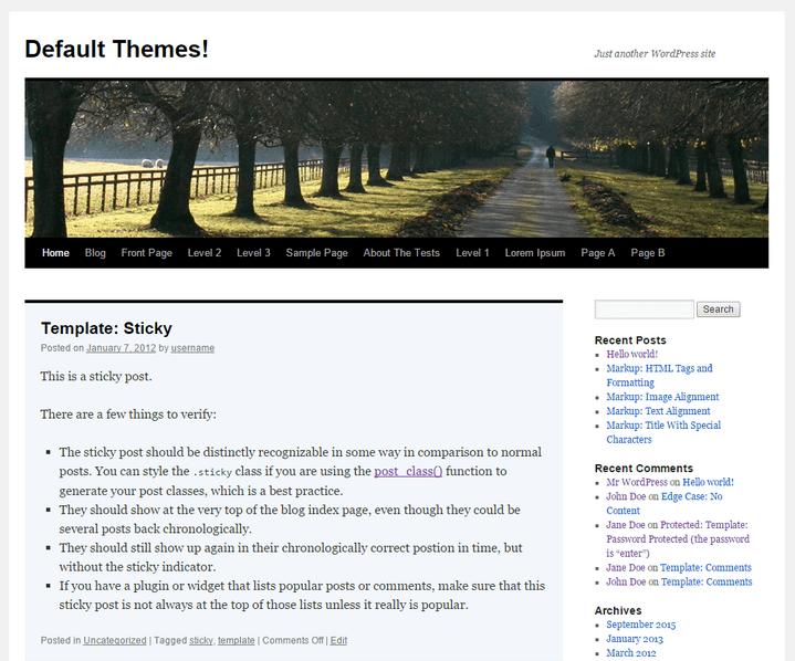 From Kubrick to Twenty Sixteen: A History of WordPress Default ...