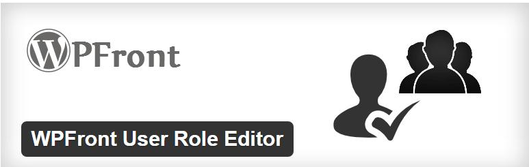 WPFront's User Role Editor