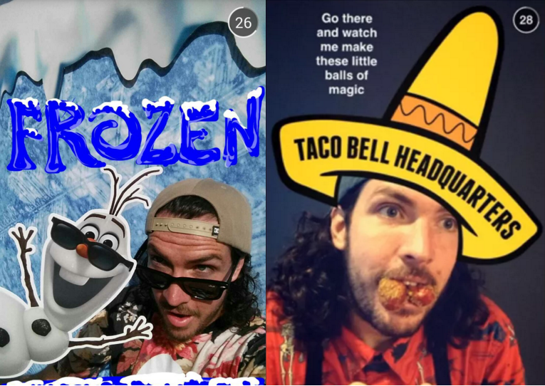 Shaun McBride for Taco Bell and Forzen