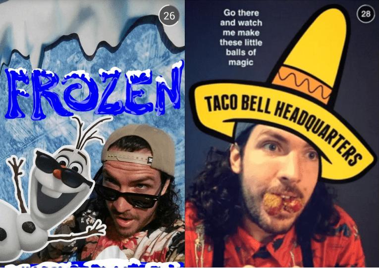 Shaun McBride for Taco Bell and Forzen