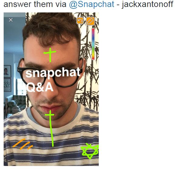Bleachers' Jack Antonoff Q/A Snapchat