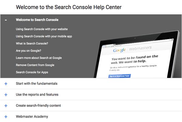 SEO-Google-search-console