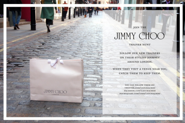 Jimmy Choo leveraged scarcity for treasure hunt