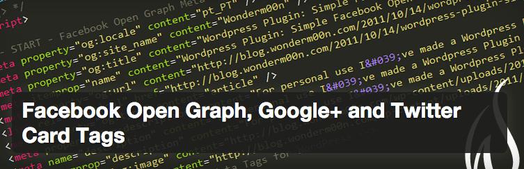 Facebook Open Graph plugin.