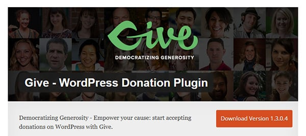 Give Donation Plugin