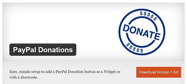 PayPal Donations Logo