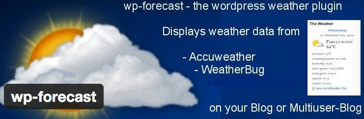 wp forecast plugin