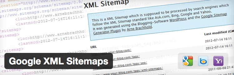 XML Sitemap plugin.