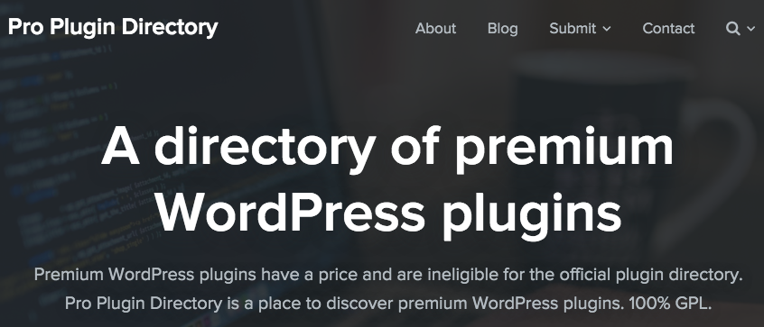 Pro Plugin Directory
