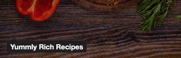 Yummly Rich Recipes WordPress Plugin