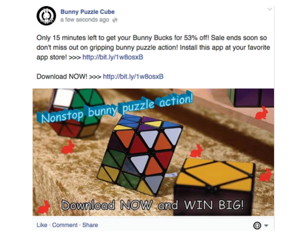 Facebook stopped overly promotional posts in 2014