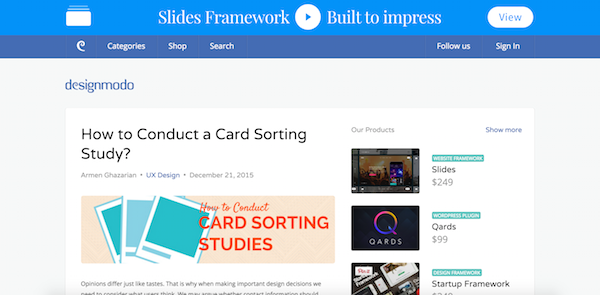 Designmodo Is A Blog Packed Full Of Resources For Both Designers And  Developers, Offering Useful Content In Categories Like Coding, WordPress,  Tutorials, ...
