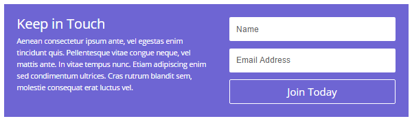 Divi Features Email Optin Forms
