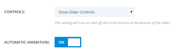 Control how your sliders work