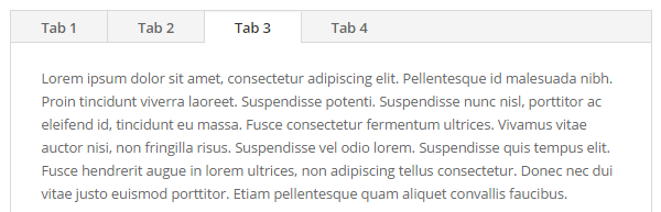 Tabs give you more presentation options