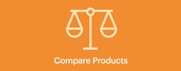 Let customers compare products
