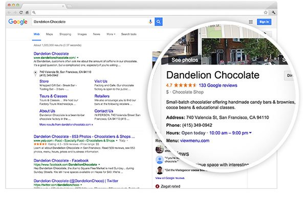Google My Places Better Listings