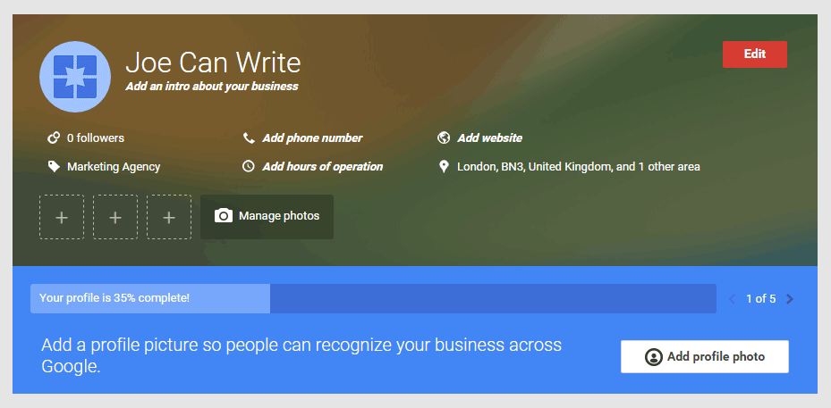 how to add manager to google my business