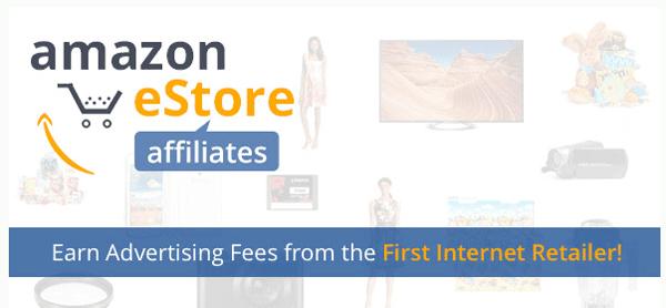 Amazon eStore Affiliates Header