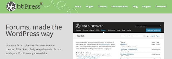 bbPress Forum Plugin