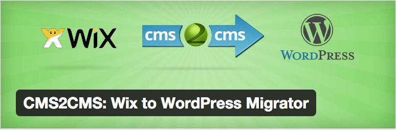 CMS2CMS: Wix to WordPress Migrator