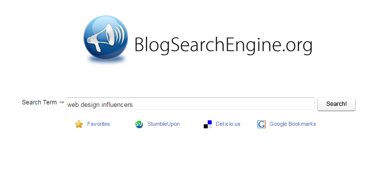 Blog search tool