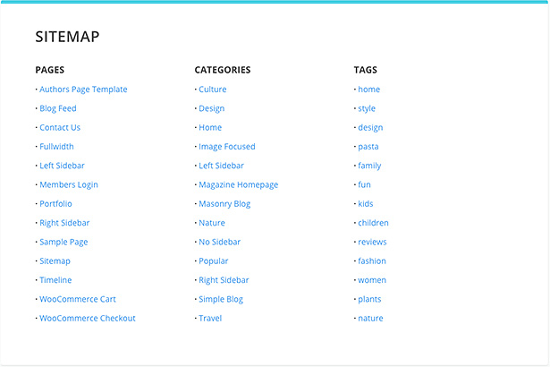 Extra has arrivedsay hello to our most powerful magazine theme page template sitemap pronofoot35fo Images
