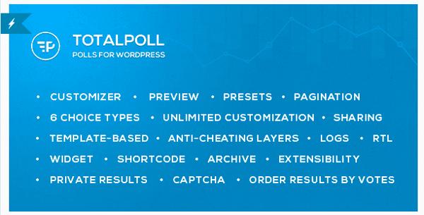 TotalPoll Pro Header