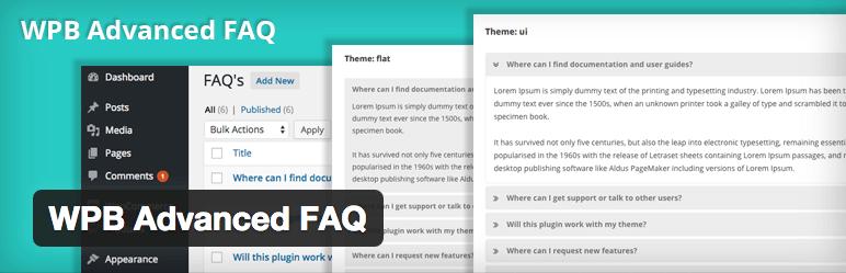 WPB Advanced FAQ Plugin