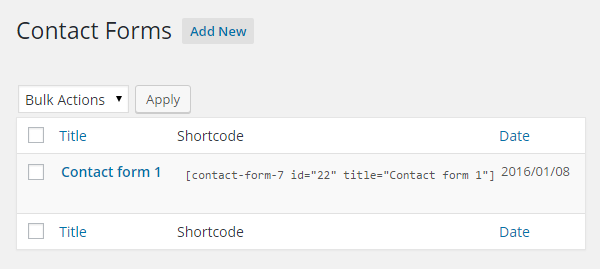 Best Contact Form 7 Extensions Shortcodes
