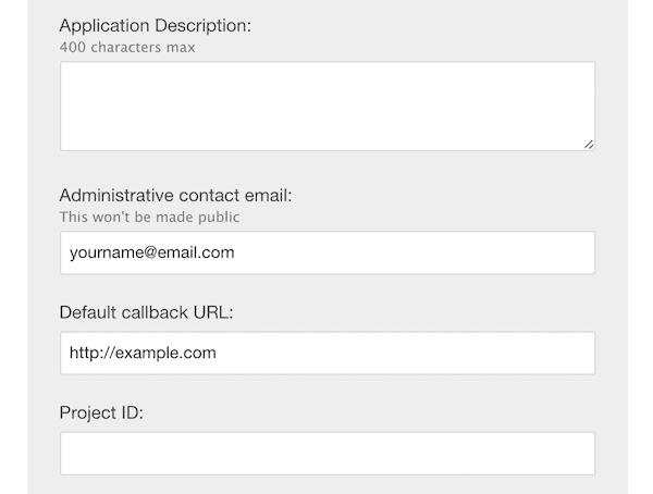 Default callback URL
